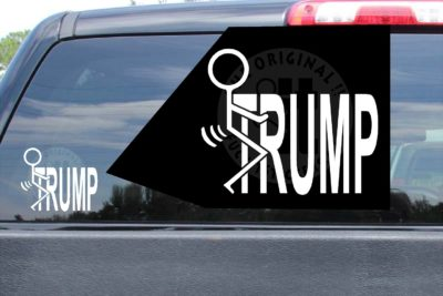 Fuck Trump Sticker Vinyl Decal
